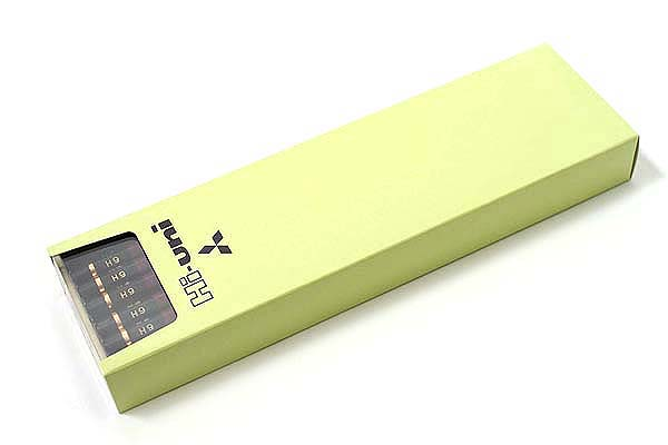 Uni Mitsubishi Hi-Uni Pencil - 6H - Box of 12 - UNI HU6H BUNDLE