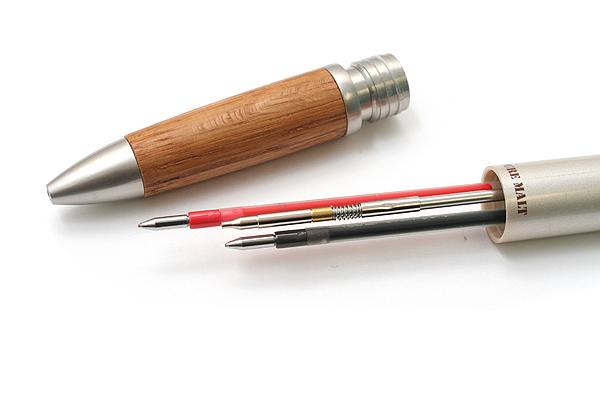 Uni Pure Malt Wood Grip 2 Color 0.7 mm Ballpoint Multi Pen + 0.5 mm Pencil - Natural Grip - UNI MSXE3100507.70