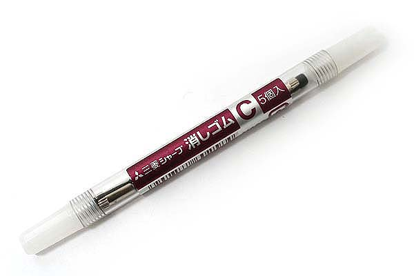 Uni Pencil Eraser Refill Size C - Set of 5 - UNI SKC