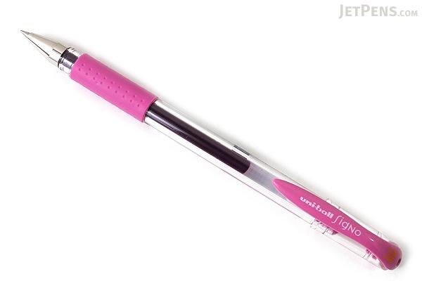 Uni-ball Signo UM-151 Gel Pen - 0.38 mm - Pure Pink - UNI UM151.67
