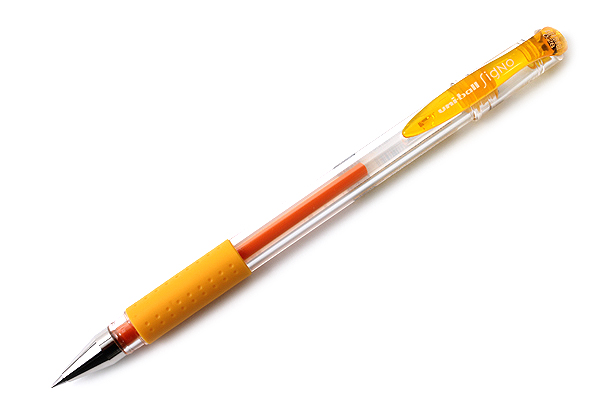 Uni-ball Signo UM-151 Gel Pen - 0.28 mm - Golden Yellow - UNI UM15128.69