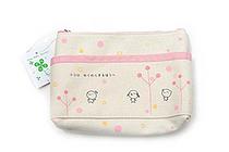 Gakken Teru Teru Tenshi Pencil Case - Large - Pink - GAKKEN F075-08