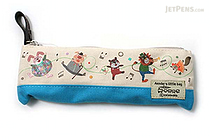 Gakken Colobockle Pencil Case - Small - Blue - GAKKEN H088-66