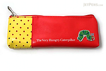 Gakken The Very Hungry Caterpillar Pencil Case - Small - Red - GAKKEN H100-72