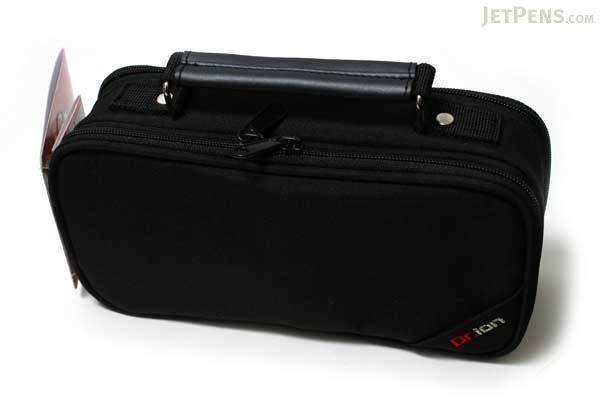 Kutsuwa Dr. Ion Mega Pencil Case - Black - KUTSUWA 168DRBK