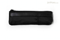 Kutsuwa Duplex Canvas Pencil Case - Black - KUTSUWA AK043BK
