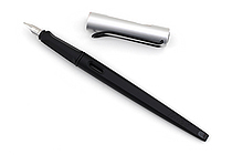 Lamy Joy Calligraphy Fountain Pen - 1.5 mm Nib - Black Body - Aluminum Cap - LAMY L11-1.5
