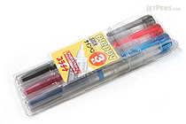 Platinum Preppy Ink Tip Refillable Sign Marker Pen - 3 Color Set - PLATINUM CSIQ-150-3P