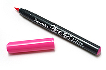 Kuretake Fudebiyori Pocket Color Brush Pen - Pink - KURETAKE CBK-55-025S