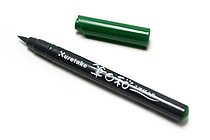 Kuretake Fudebiyori Pocket Color Brush Pen - Green - KURETAKE CBK-55-040S