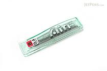 Pentel Hi-Polymer Ain Pencil Lead - 0.4 mm - B - PENTEL C254-B