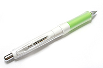 Pilot Dr. Grip G-Spec White Deco Shaker Mechanical Pencil - 0.5 mm - Green Grip - PILOT HDGS-60WR-G5