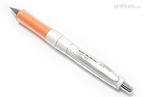 Pilot Dr. Grip G-Spec White Deco Shaker Mechanical Pencil - 0.5 mm - Orange Grip - PILOT HDGS-60WR-O5