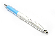 Pilot Dr. Grip G-Spec White Deco Shaker Mechanical Pencil - 0.5 mm - Soft Blue Grip - PILOT HDGS-60WR-SL5