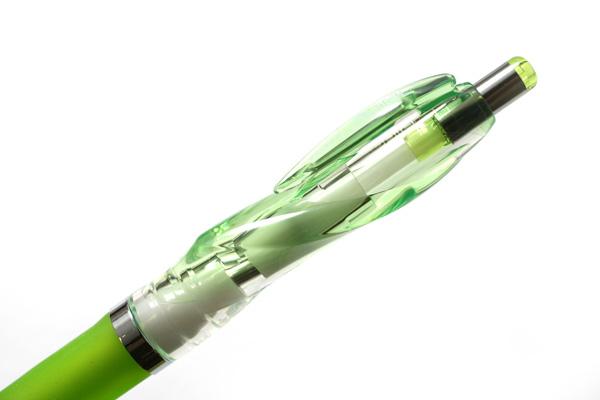 Zebra nuSpiral CC Ballpoint Pen - 0.7 mm - Light Green Grip - ZEBRA BA-51-CLG