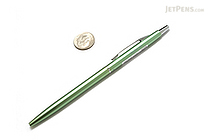 Ohto Needle-Point Slim Line 05 II Ballpoint Pen - 0.5 mm - Light Green Body - OHTO NBP-6A5 LIGHT GREEN