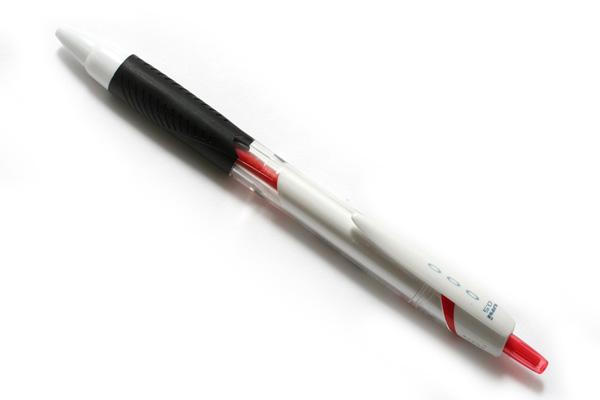 Uni Jetstream Standard Ballpoint Pen - 0.5 mm - Red Ink - White Body - UNI SXN15005.15