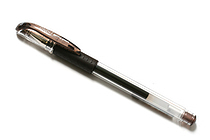 Uni-ball Signo UM-151 Gel Pen - 0.5 mm - Brown Black - UNI UM15105.22
