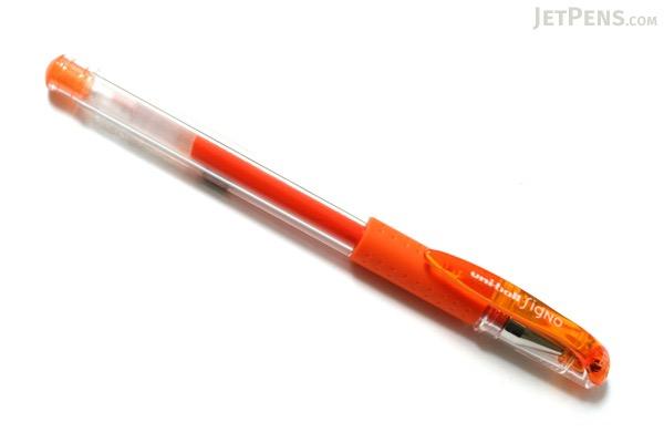 Uni-ball Signo UM-151 Gel Pen - 0.5 mm - Orange - UNI UM15105.4