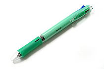 Zebra Clip-On Slim 4 Color 0.7 mm Ballpoint Multi Pen - Pastel Green Body - ZEBRA B4A5-WG