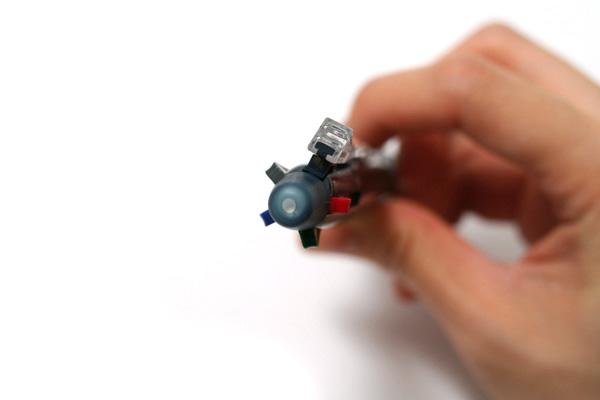 Pilot 4+1 Light 4 Color 0.7 mm Ballpoint Multi Pen + 0.5 mm Pencil - Blue Black Body - PILOT BKHL-50R-BB
