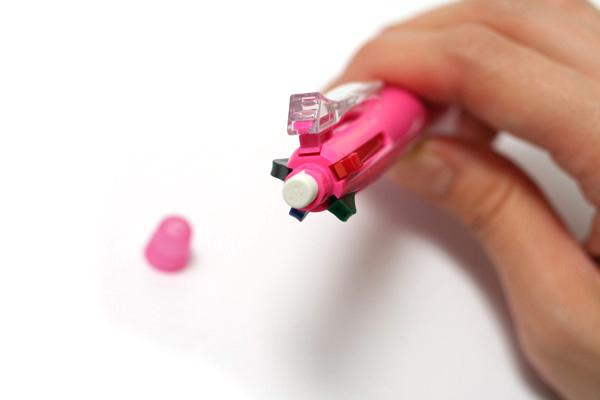 Pilot 4+1 Light 4 Color 0.7 mm Ballpoint Multi Pen + 0.5 mm Pencil - Pink Body - PILOT BKHL-50R-P