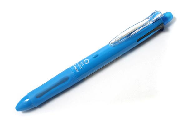 Pilot 4+1 Light 4 Color 0.7 mm Ballpoint Multi Pen + 0.5 mm Pencil - Soft Blue Body - PILOT BKHL-50R-SL