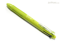 Pilot 4+1 Light 4 Color 0.7 mm Ballpoint Multi Pen + 0.5 mm Pencil - Soft Green Body - PILOT BKHL-50R-SG