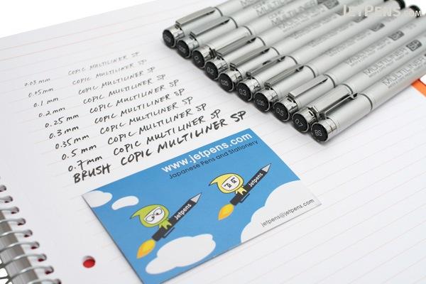 Copic Multiliner SP Pen - 0.7 mm - Black - COPIC MLSP07