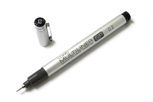Copic Multiliner SP Pen - 0.2 mm - Black - COPIC MLSP02