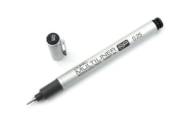 Copic Multiliner SP Pen - 0.25 mm - Black - COPIC MLSP025