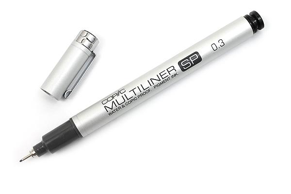 Copic Multiliner SP Pen - 0.3 mm - Black - COPIC MLSP03