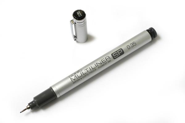Copic Multiliner SP Pen - 0.35 mm - Black - COPIC MLSP035