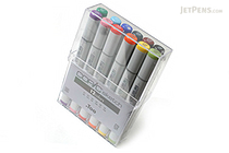 Copic Sketch Marker - 12 Basic Color Set - COPIC SB12
