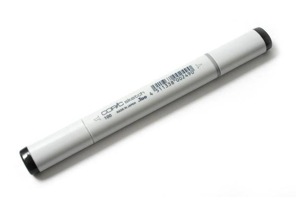 Copic Sketch Marker - Black - COPIC 100-S