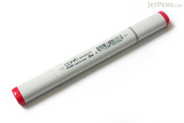 Copic Sketch Marker - RV29 Crimson - COPIC RV29-S