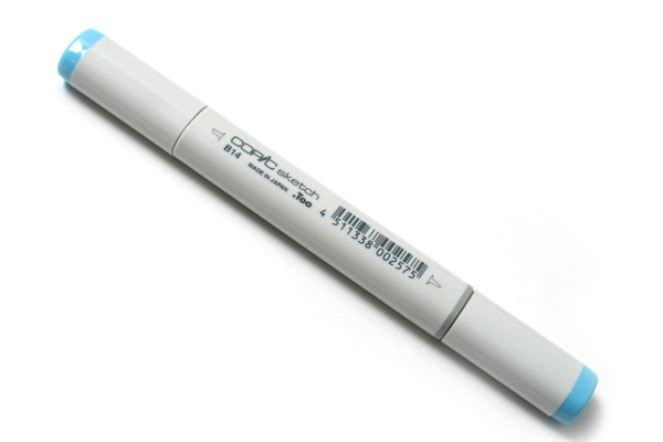 Copic Sketch Marker - Light Blue - COPIC B14-S