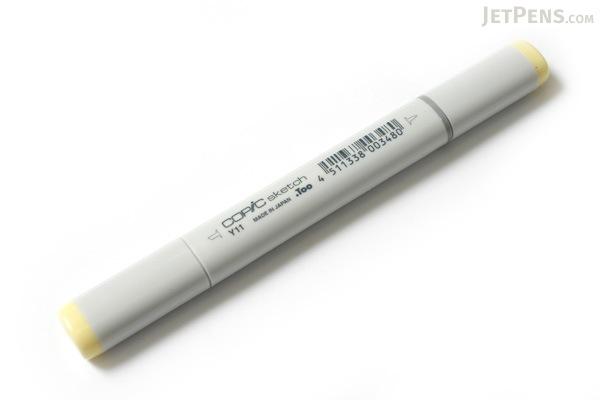 Copic Sketch Marker - Y11 Pale Yellow - COPIC Y11-S