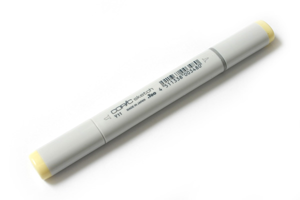 Copic Sketch Marker - Pale Yellow - COPIC Y11-S