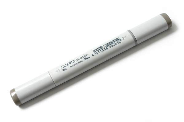 Copic Sketch Marker - Warm Gray 5 - COPIC W5-S