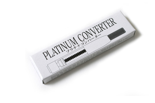 Platinum Fountain Pen Converter - PLATINUM CONVERTER-500