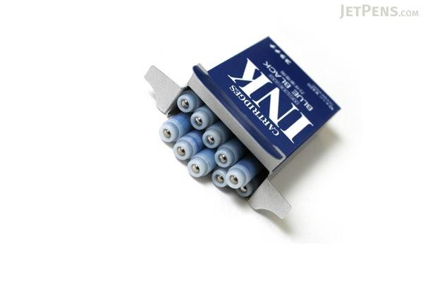 Platinum Blue Black Ink - For Fountain Pen - 10 Cartridges - PLATINUM SPSQ-400 3