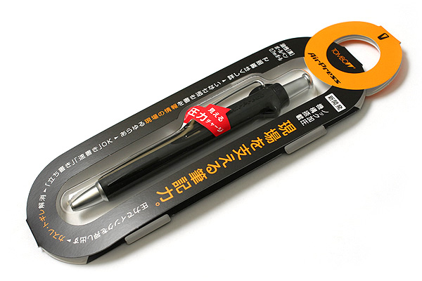Tombow AirPress Ballpoint Pen - 0.7 mm - Black Body - TOMBOW BC-AP11