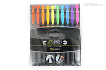 Tombow Kei Coat Double-Sided Highlighter - 10 Color Set - TOMBOW WA-TC10C