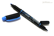 Tombow Kei Coat Double-Sided Highlighter - Blue - TOMBOW WA-TC89