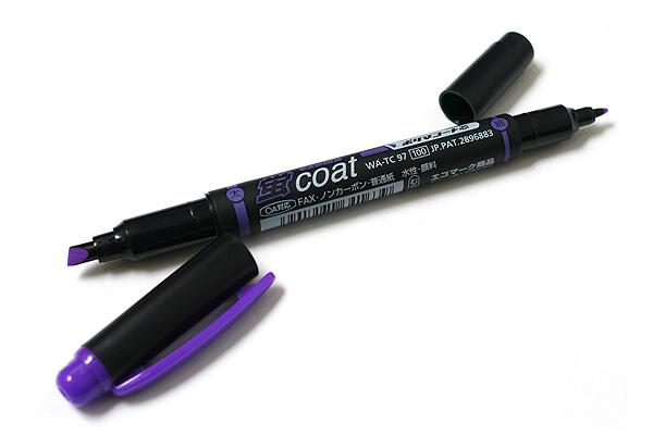 Tombow Kei Coat Double-Sided Highlighter - Purple - TOMBOW WA-TC97
