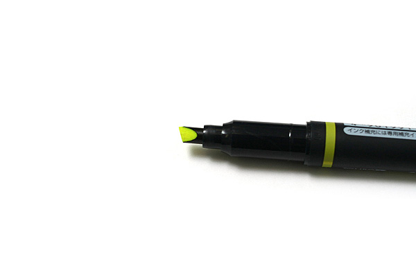 Tombow Kei Coat Double-Sided Highlighter - Yellow - TOMBOW WA-TC91