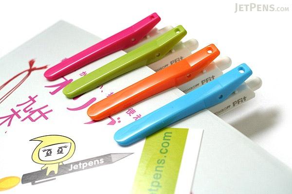 Tombow Pfit Clip Mini Ballpoint Pen - 0.7 mm - Blue Clip - TOMBOW BC-SCP42