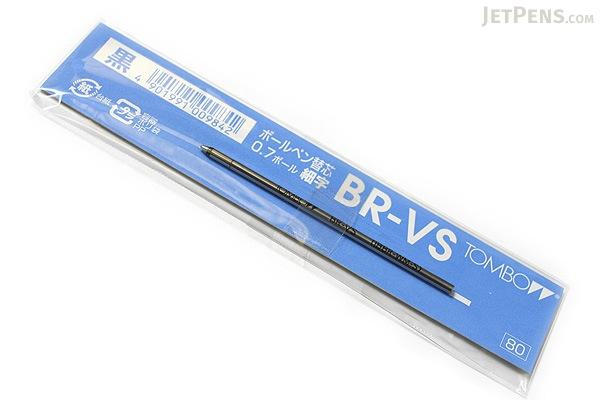 Tombow VS Ballpoint Pen Refill - D1 - 0.7 mm - Black - TOMBOW BR-VS33