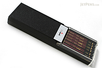 Uni Mitsubishi Hi-Uni Pencil - 10B - Box of 12 - UNI HU10B BUNDLE